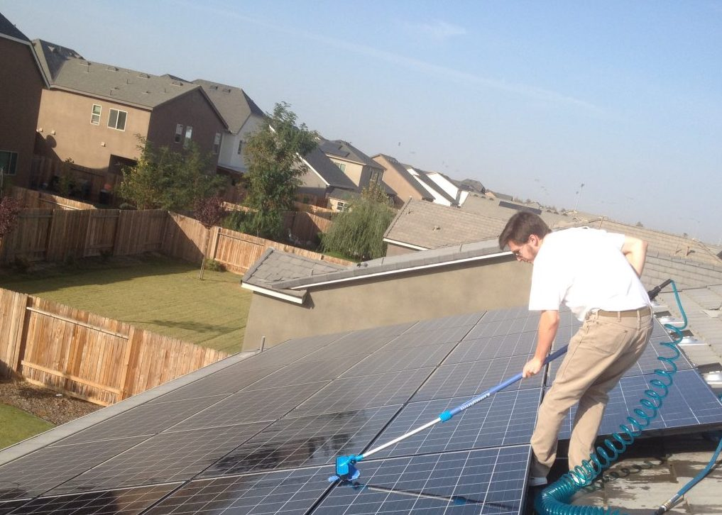Bakersfield Solar Panel Cleaning, Bakersfield Solar Company, One Way