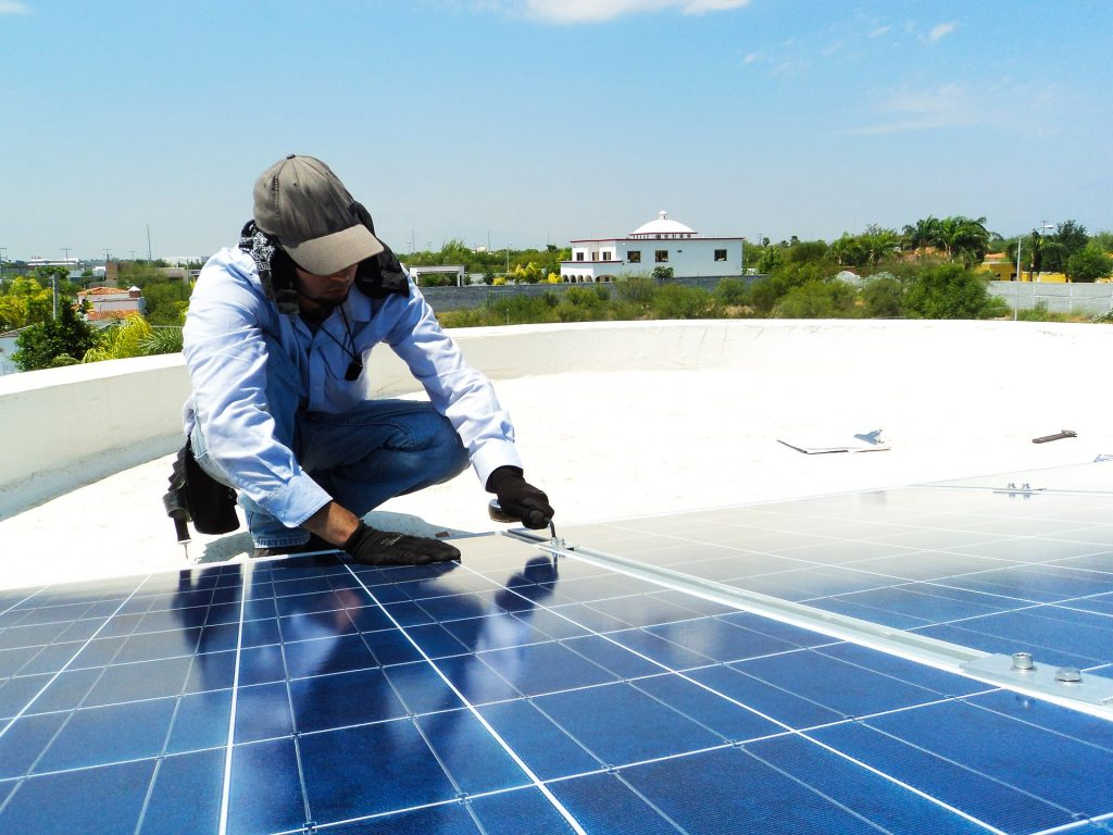 Bakersfield Solar Panel Cleaning, Bakersfield Solar Cleaning Company, One Way
